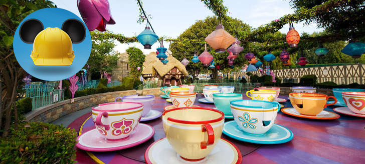 Mad Hatters' Tea Party Cups